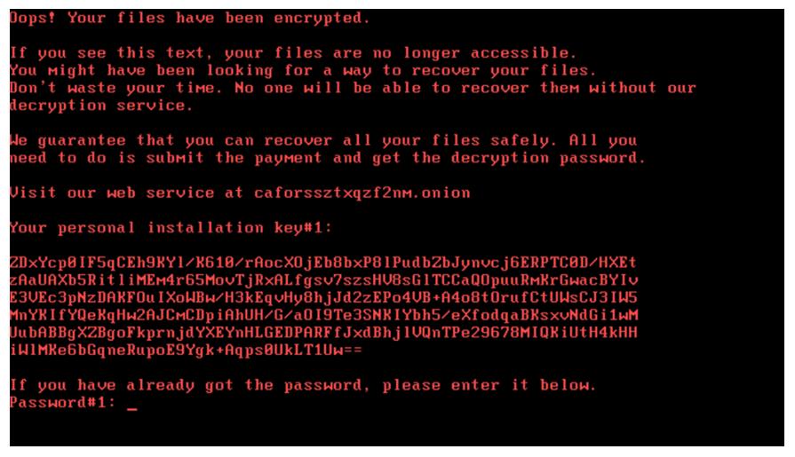 badrabbit szyfrowanie - Bad Rabbit - nowy ransomware sieje spustoszenie - netcomplex