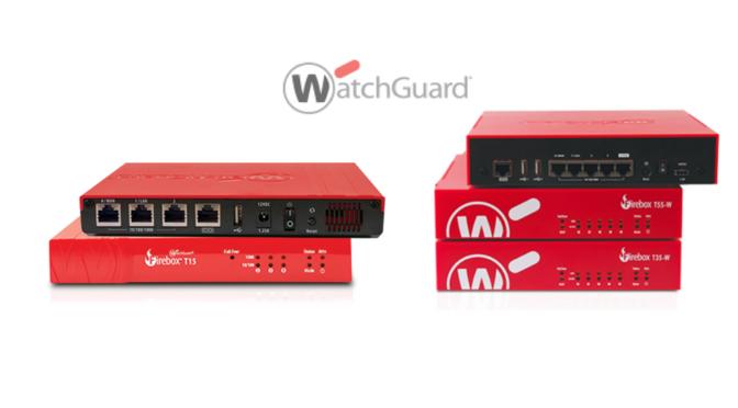 WatchGuard wprowadza do sprzedaży nowe Fireboxy serii T