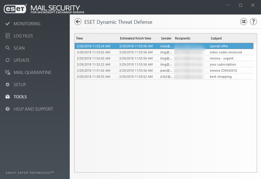 edtd product - Dynamiczny mechanizm ochrony sieci zESET Dynamic Threat Defense - netcomplex