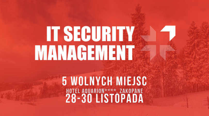 Porozmawiajmy o IT Security Management w Zakopanem! Konferencja GigaCon