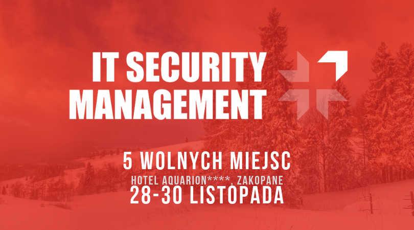 Porozmawiajmy o IT Security Management w Zakopanem! Konferencja GigaCon