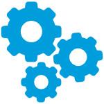 settings gears - Dlaczego warto zabezpieczać 250 wersji systemów? - netcomplex