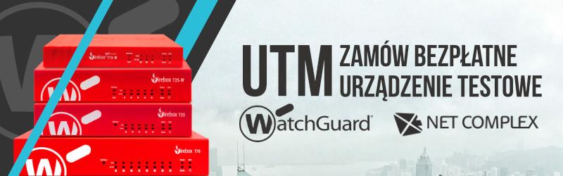 Przetestuj urządzenia WatchGuard bezpłatnie
