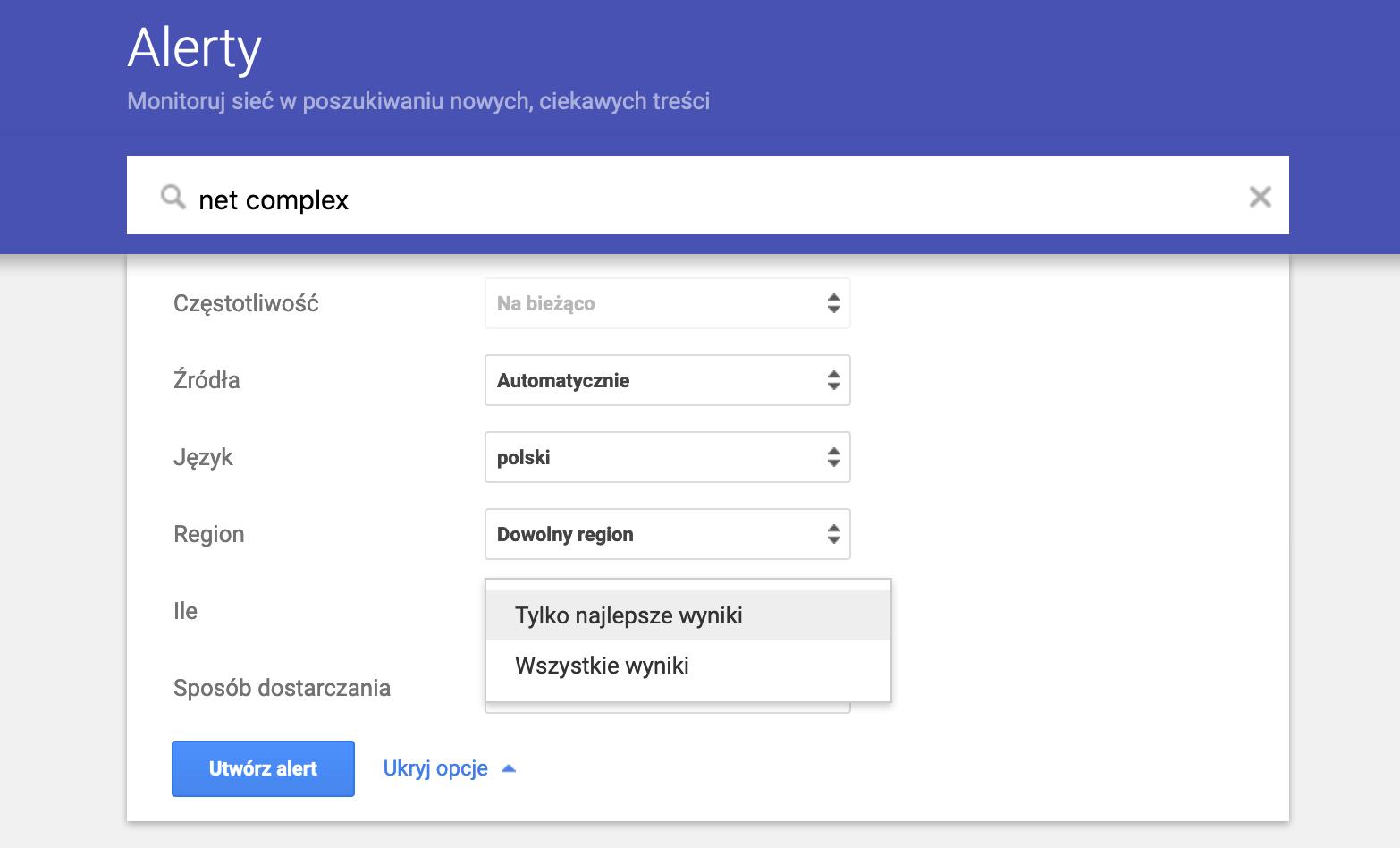 Screenshot 2019 09 30 at 15.21.50 - Używasz Google Alerts? Uważaj nastrony oniskiej reputacji! - netcomplex