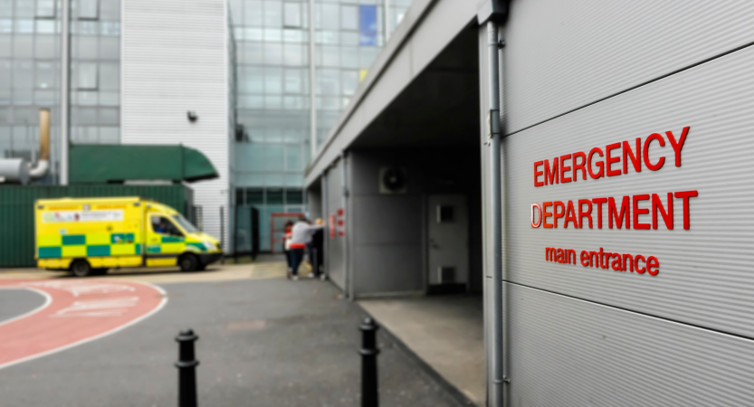 ataki na szpitale